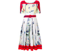 "Kleid mit ""Sailboat""-Print"