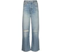 Liquid Miramar Jeans im Distressed-Look
