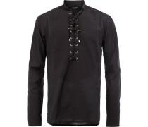 Hemd mit Schnürung - men - Baumwolle - 41