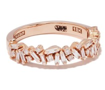 18kt rose gold diamond Fireworks ring