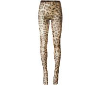 Leggings mit Leopardenmuster