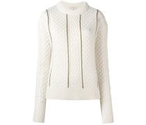 - Pullover mit Zopfmuster - women