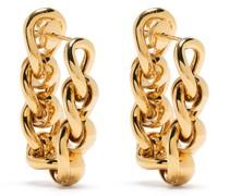 Ohrringe aus Kettengliedern