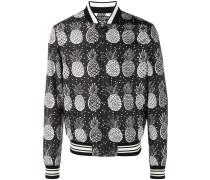 Bomberjacke mit Ananas-Print - men - Polyester