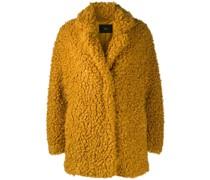 Shearling-Jacke im Oversized-Look