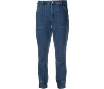 Schmale Arkin Cropped-Jeans