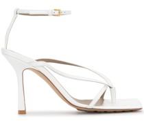 Sandalen mit eckiger Schuhspitze