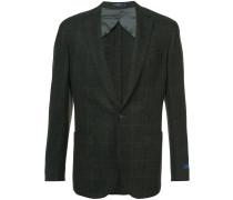 textured tweed blazer