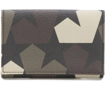 star camouflage card holder