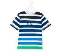 - Gestreiftes T-Shirt - kids - Baumwolle - 6 J.