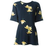 Bluse mit Blumenmotiv
