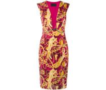 Kleid mit Ketten-Print - women