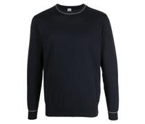 Pullover mit Kontrastdetails