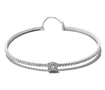 18kt 'Mye' Weißgoldarmband mit Diamanten