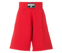 Bermuda-Shorts mit Logo-Patch
