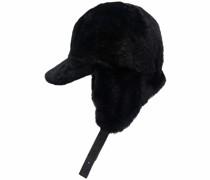 Jockey shearling hat