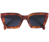 Eckige Sonnenbrille in Schildpattoptik - women