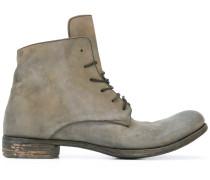 Stiefel mit Schnürung - men - Pferdeleder/Leder