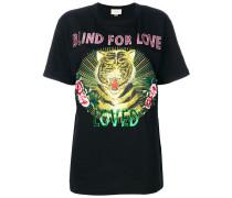 Blind for Love tiger print T-shirt