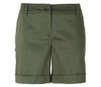 Chino-Shorts mit hohem Bund - women
