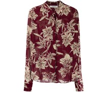 Translucent Florals Hemd