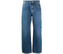 P.A.R.O.S.H. 'Ceans' Cropped-Jeans