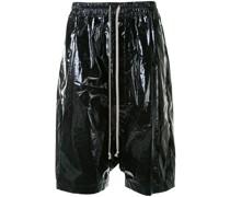 wet look long shorts
