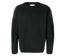 Sweatshirt mit Kontrastnähten