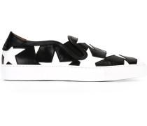 Slip-On-Sneakers mit Sternen