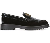 embellished kilties loafers