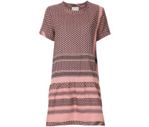 graphic-print T-shirt dress