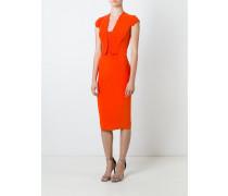 Kleid mit gewellter Kante - women