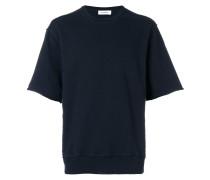 oversized short sleeves sweatshirt