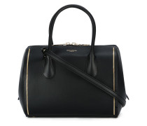 Handtasche mit zwei Reißverschlüssen