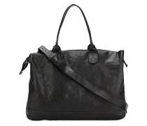 classic tote bag - women - Baumwolle/Leder