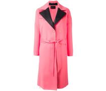 Mantel mit steigendem Kragen