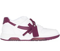 OFF WHITE Out of office calf leather WHT