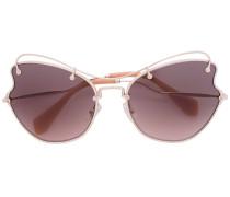 'Smu' Sonnenbrille - women - Acetat/metal - 61