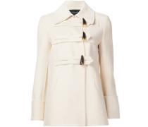 Kurzer Mantel mit Knebelverschluss