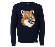 Pullover mit Fuchskopf