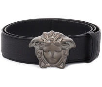 Medusa metal buckle belt