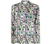 "Hemd mit ""Portofino""-Print"