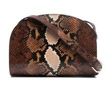 A.P.C. Handtasche mit Schlangenleder-Optik