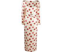'' Kleid mit Rosen-Print