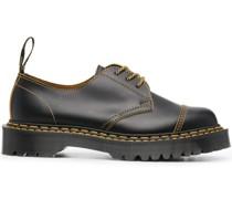 Oxford-Schuhe mit Kontrastdetails