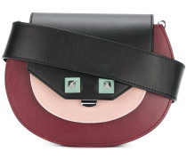 Schultertasche in Colour-Block-Optik