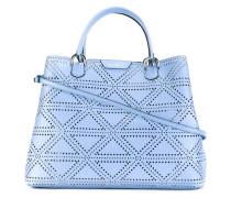 Handtasche mit Lochmuster