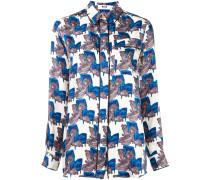 Pyjama-Hemd mit Print