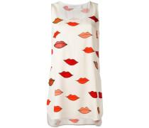 Seiden-Tanktop mit Lippen-Print - women