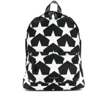 star print small backpack